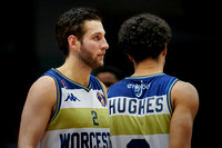 Maarten Bouwknecht and Mark Hughes, Worcester Wolves
